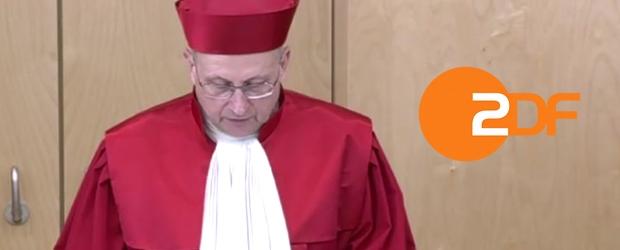 Verfassungsgericht zum ZDF-Staatsvertrag
