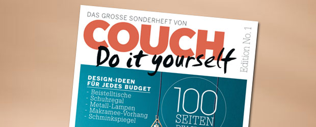 couch bekommt einen do it yourself ableger. Black Bedroom Furniture Sets. Home Design Ideas