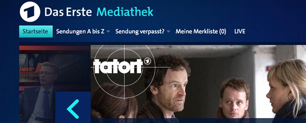Mediathek Erste