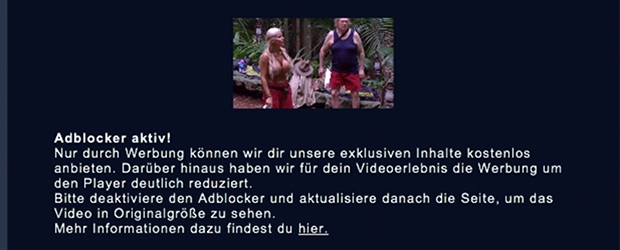 rtl macht ibes videos f r adblocker user klein. Black Bedroom Furniture Sets. Home Design Ideas