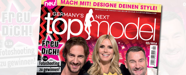 Germany's Next Topmodel Magazin