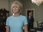 "Claire Underwood (Robin Wright) in ""House of Cards"", Staffel 5"