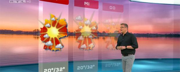 Rtl Aktuell Sendet Vier Tage Alte Wettervorhersage Dwdlde