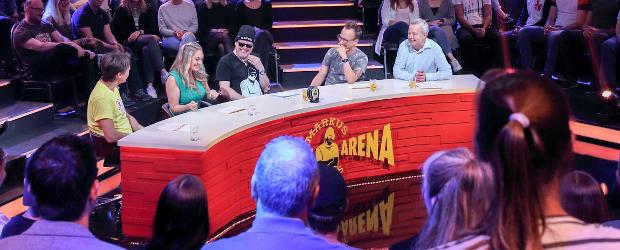 Witze Arena Gäste