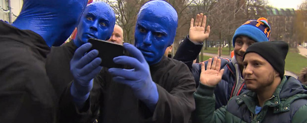 PR-Aktion: Blue Man Group taucht in RTL-II-Soap auf