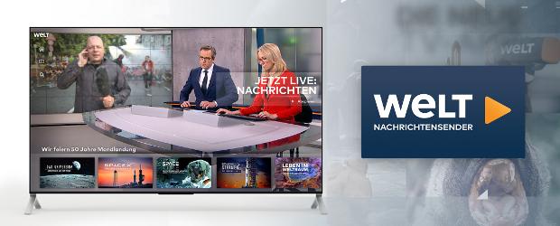 Welt bringt neue Smart-TV-App an den Start - DWDL de