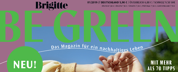 """Nachhaltigkeitsmagazin: """"Brigitte"""" startet grünen Ableger - DWDL.de"""
