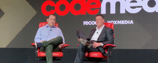Code Media 2019: Peter Kafka, Kevin Mayer
