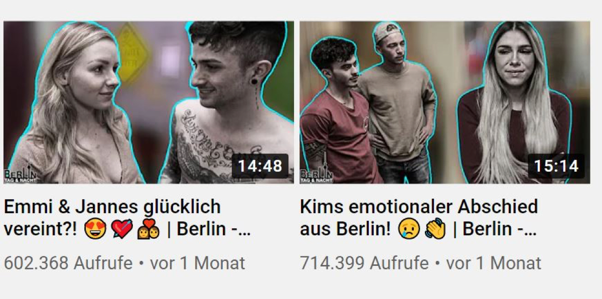 Berlin - Tag & Nacht bei YouTube