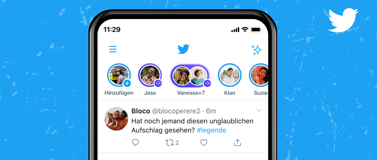 Spaces bei Twitter