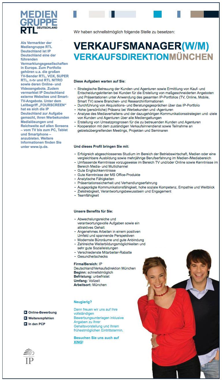 Stellenmarkt/Stellenangebote - Bürogemeinschaft in München sucht ...