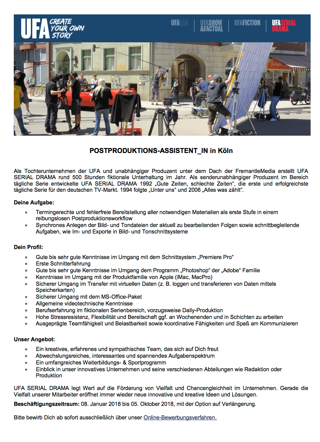 Produktions-Assistent/in