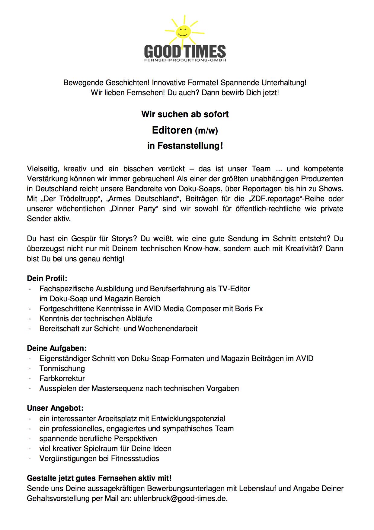 Charmant Lebenslauf Für Bundesjobs Probe Zeitgenössisch - Entry ...