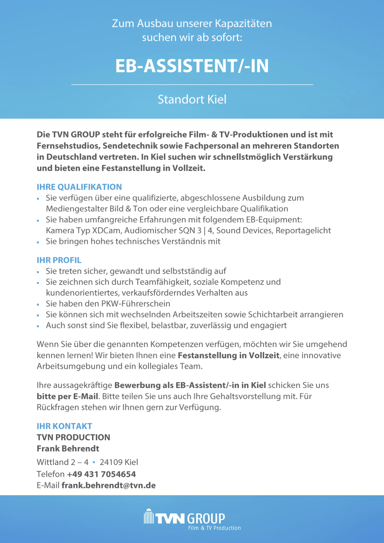 EB-Assistent/-in