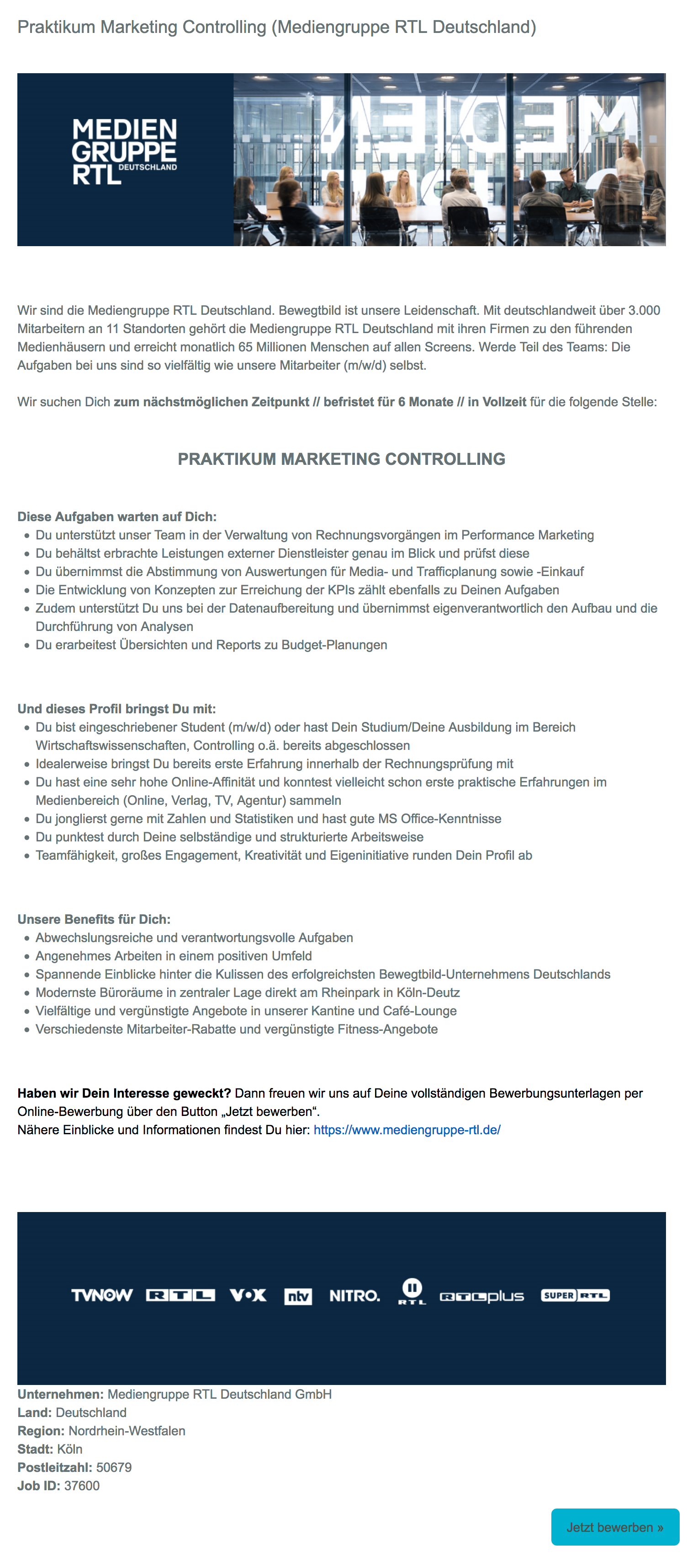Praktikum Marketing Controlling